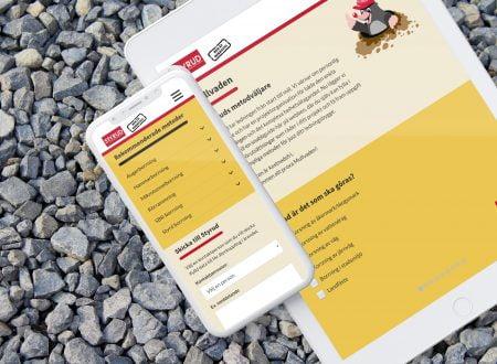 Metodväljare, där kunden matar in data och får ut föreslagna metoder och kontaktpersoner.