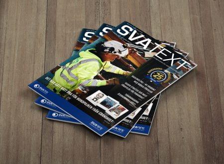 Svatext - En kundtidning / branschtidning från Svatek & Svapipe